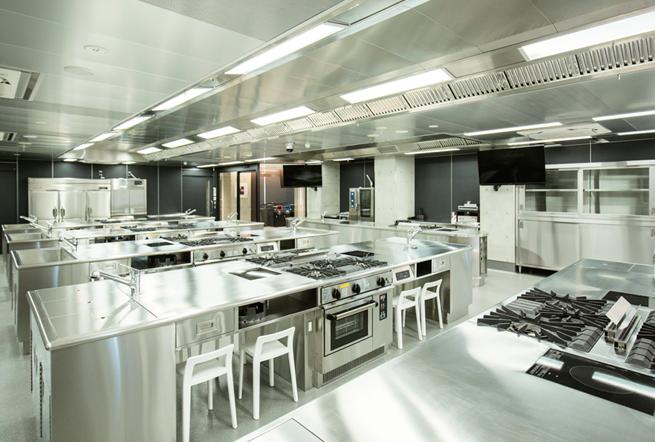 7F 調理実習室(中国料理)
