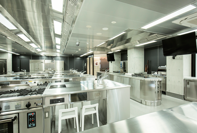 5F 調理実習室(西洋料理)