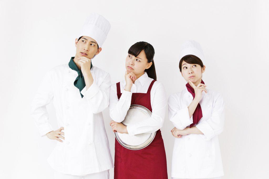調理師のここが大変! 知っておきたい、つらいところ